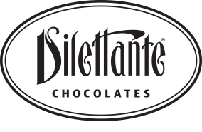 Dilettante Chocolates 45th Anniversary Logo
